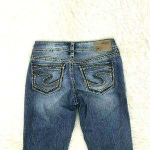 Silver Jeans Women Fluid Suki Sz 28 X 32 In 18-22